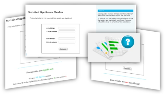 Statistical Significance Checker Screen