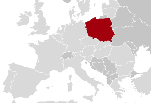 Poland map