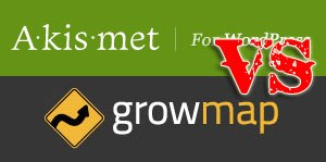 akismet vs growmap