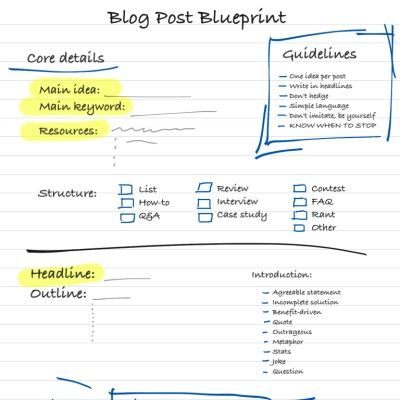 Get my list of 42 fill in the blank headline templates and for Free blogger templates for writers